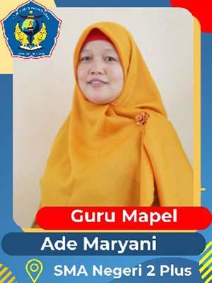 Ade Maryani,S.Pd