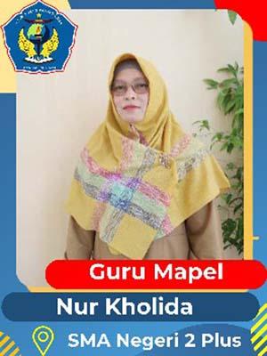 Nur Kholida Nasution S.Pd
